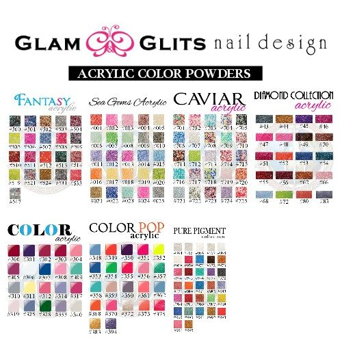 Glam and Glits Color Acryl