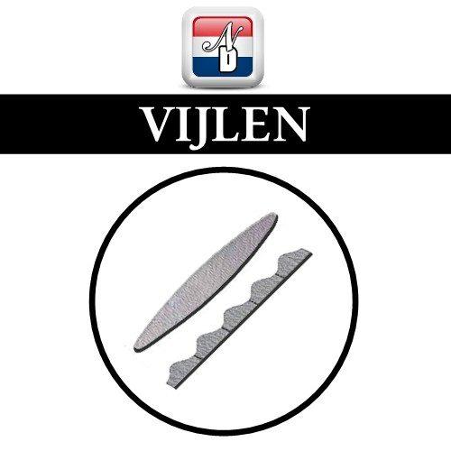 Ovaal / Cylinder vijlen
