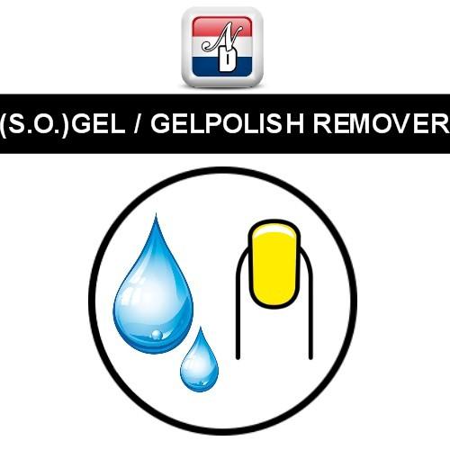 (Soak Off) Gel / Gelpolish (Gellak) Verwijderaar