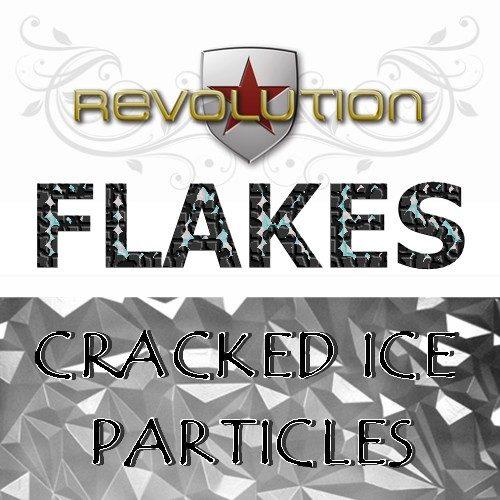Cracked Ice Flakes