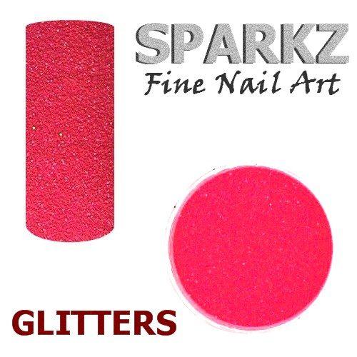 Sparkz Nail Art Glitter 043 Neon Hot Pink 3 Gr Nageldiscounter